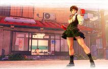 SFV Sakura Official Artwork