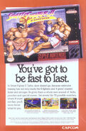 SFII TURBO SNES Video Game Print Ads 03