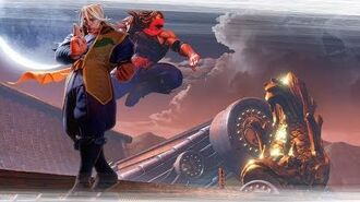 Street Fighter V- Zeku Reveal Trailer