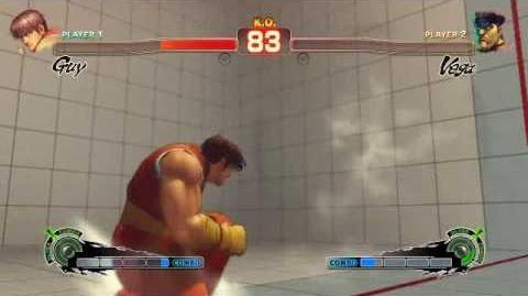 Super Street Fighter 4 - Guy Ultra 1 Bushin Goraisenpujin
