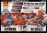 SF III New Generation - arcade flyer characters