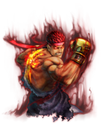 Character select Evil Ryu SSFIV
