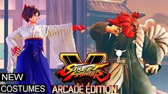 Street Fighter 5 Arcade Edition - New Costumes and Dictator-Themed Stage