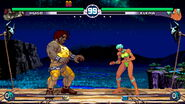 Street Fighter III 2nd Impact - Hugo versus Elena