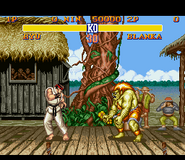 SF2 SNES Blanka Stage