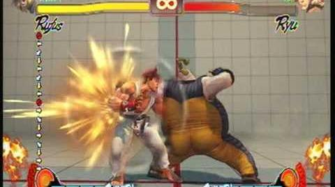 Street Fighter 4 Rufus Super Spectable Romance