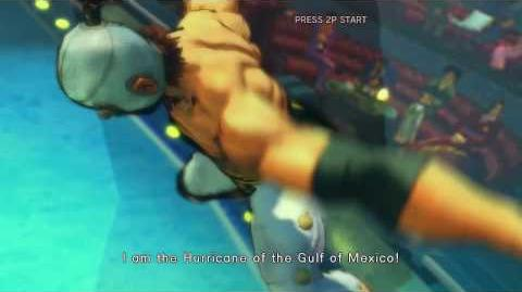 Street Fighter IV - El Fuerte's Rival Cutscene Japanese Ver. (HD)