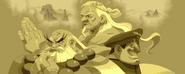 Gouken, Goutetsu, and Bison in Street Fighter Alpha
