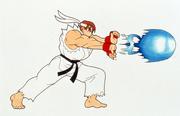 SFA-Ryu sprite concept-hadoken