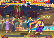 Street Fighter Zero 2 Alpha Survival