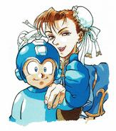 Bengus-Megaman & Chun-Li