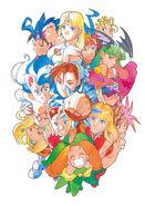 Capcom Girls-Bengus