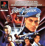 Street Fighter -- The Movie (PSX - cubierta europa)