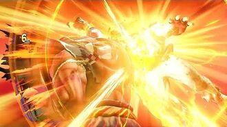 Street Fighter V, Arcade Edition La Intro y Critical Art de Sagat.