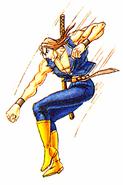 Carlos-FF2-downward-punch