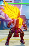 SFV Necalli Capcom Pro Tour 2016 Costume in V-Trigger Mode