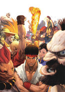 STREET FIGHTER Eternal Challenge Japan Version Cover
