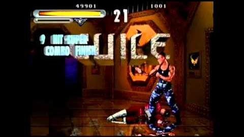 Guile's Triple Flash Kick - Street Fighter The Movie (Arcade)