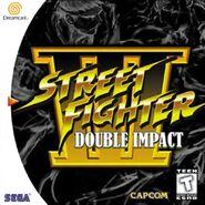 Street Fighter III - Double Impact (cubierta América del Norte)