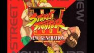 Street Fighter III New Generation Original Arrange Album (D1;T7) Get On A Train backing repeat