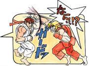SFII-Ryu vs Ken
