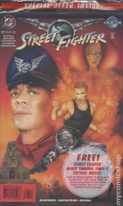Street Fighter-- The Battle For Shadaloo cover special