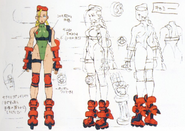 Cammy Concept (Cannon Spike)
