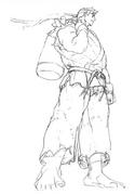 SFIIING-Ryu ending concept-1