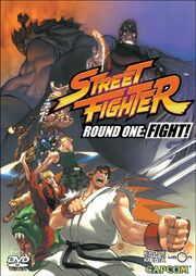 Street Fighter - Round One-- Fight! DVD cover