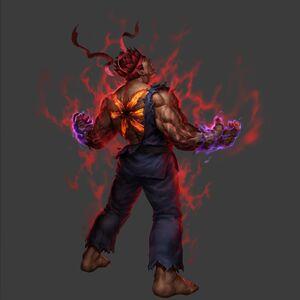 Evil Ryu Gallery Street Fighter Wiki Fandom