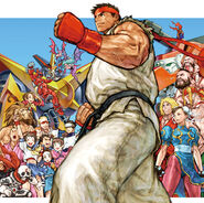 ALL ABOUT Capcom Fighting Game 1987-2000 Cover