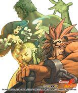 Capcom fighting jam conceptart EB7gv