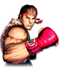 Character select Ryu SFIV