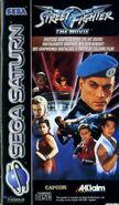 Street Fighter -- The Movie (SEGA SATURN - cubierta europa)