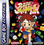 Super Puzzle Fighter II Turbo (GBA - cubierta Europa)