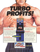 Super Street Fighter II Turbo - flyer