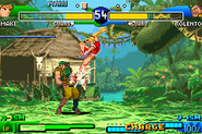 Street Fighter Alpha 3 Upper GBA
