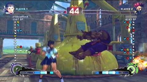 Super Street Fighter 4 online match 23 9 2010
