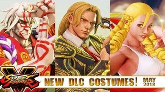 "Take a Look at ""NEW DLC COSTUMES"" of Street FighteR V AE! - May 2018"