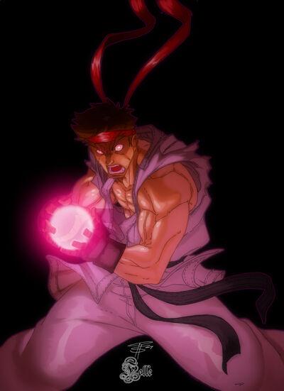 Ryu DARK Hadou by Fooray