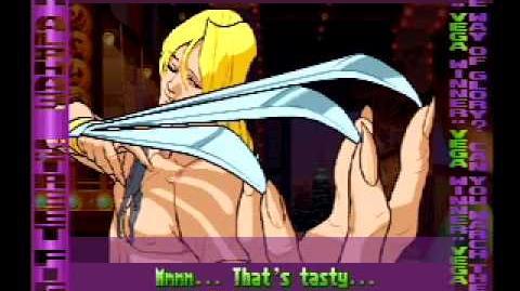 Street Fighter Alpha 3 Vega's Full Storyline and Ending