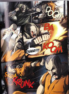 Sagat flies into a rage
