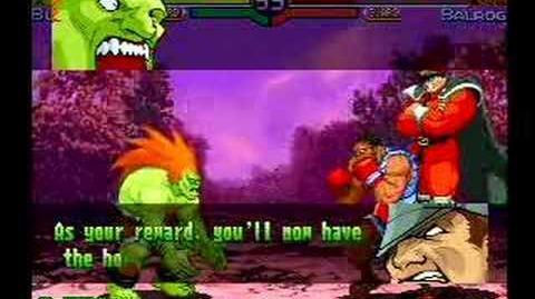 Street Fighter Alpha 3 Blanka's Full Storyline and Ending