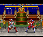 SF2T SNES Bison Stage