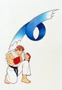 SFA-Ryu sprite concept-jump