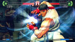 Street fighter 4 video game image ryu