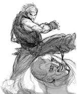 SFIV-Ken kick2