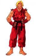 Street Fighter III 2nd Impact Art Ken 1
