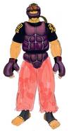 Dan Hibiki (Alternate Outfit)