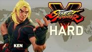 Street Fighter V - Ken Arcade Mode (HARD)